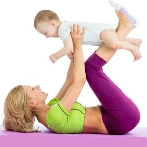 怀孕后的锻炼 – 生产后减肥 – 由私人教练 健康 LOGO-玩APPs