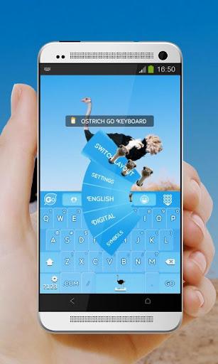 玩個人化App|鴕鳥 GO Keyboard Theme免費|APP試玩