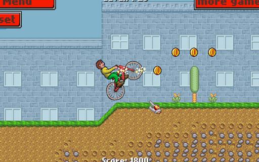 山地自行車男孩 - 賽車遊戲
