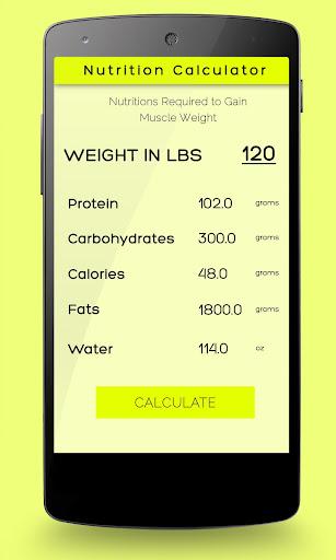 Nutrition Calculator - FREE