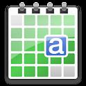 aCalendar – Android Calendar logo