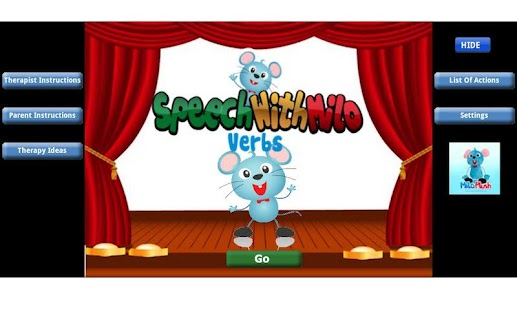 Speech with Milo: Verbs- screenshot thumbnail