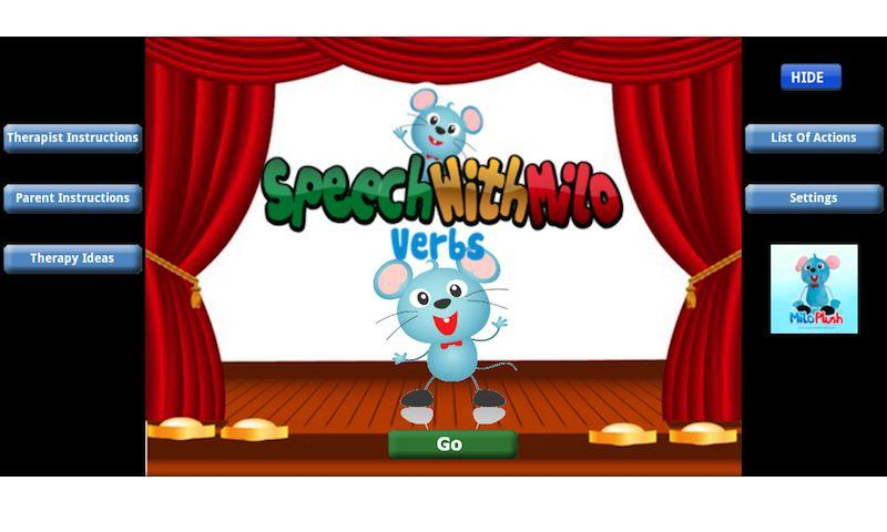 Speech with Milo: Verbs - screenshot