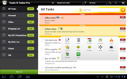 Tasks N ToDos Pro - To Do List Screenshot 9