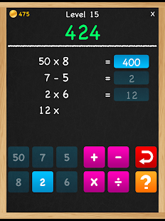 Numbers Game 6 Countdown Math