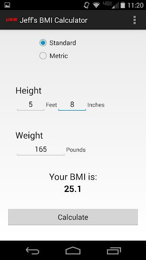 Jeff's BMI Calculator