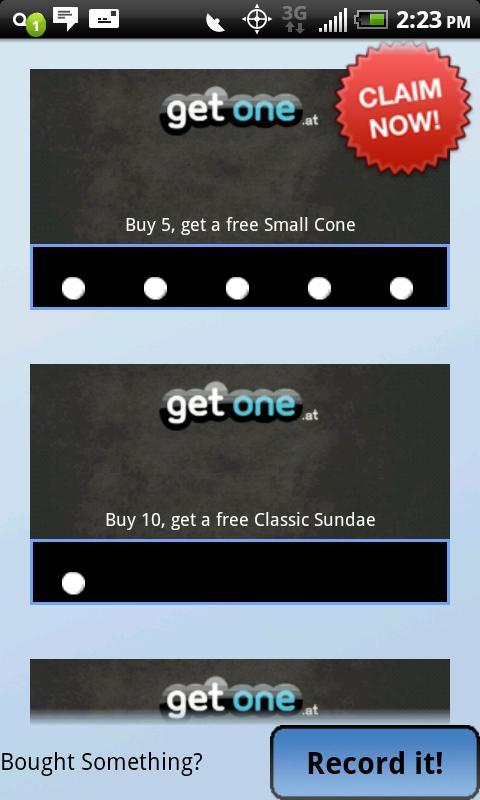 GetOne- screenshot