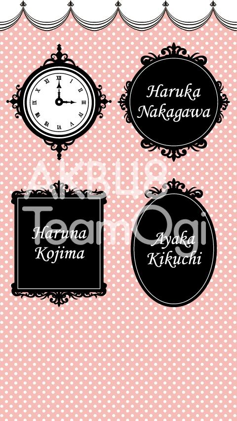 AKB48 TeamOgi Live Wall Paper - screenshot