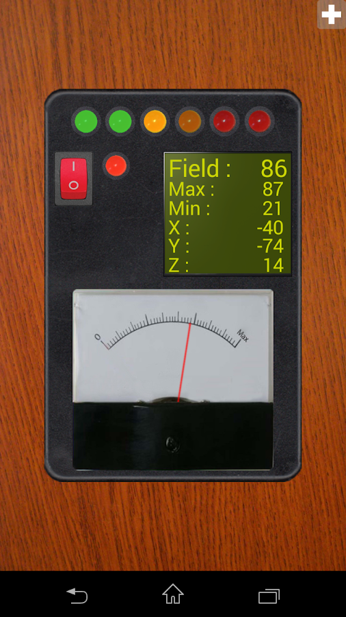 Ultimate EMF Detector Free - screenshot