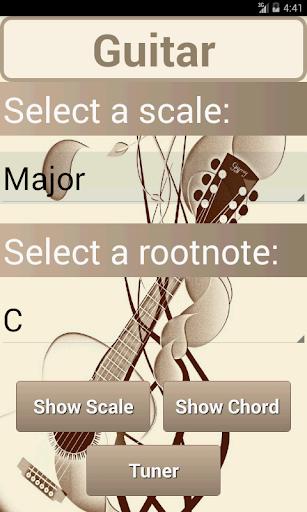 Scales Chords: Guitar Lite
