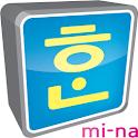 Mina Hangul logo