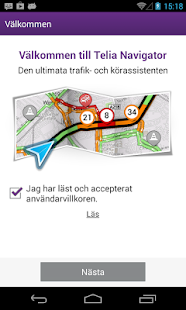 Telia Navigator- screenshot thumbnail