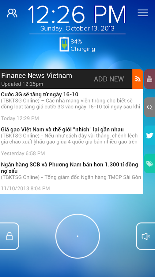 Finance News VN - Start RSS - screenshot