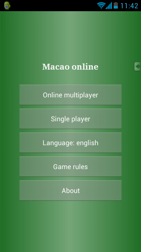 Macao Online- screenshot