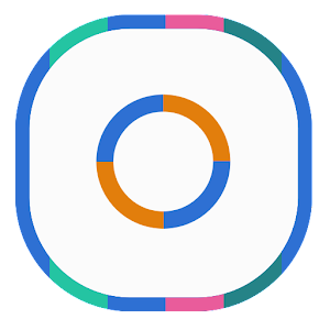 Download App Colorful Lines Icon Pack - iPhone App