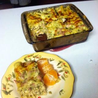 Le Cordon Bleu lasagna..