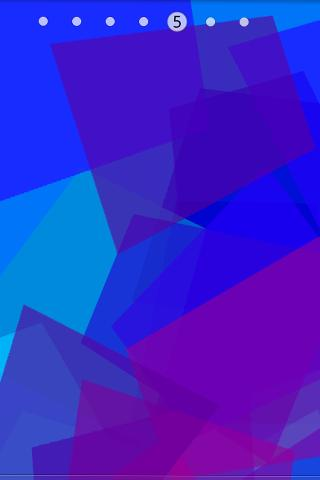 Violet Lucency Live Wallpaper - screenshot