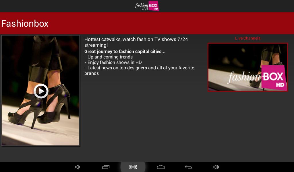 Fashionbox Live- screenshot