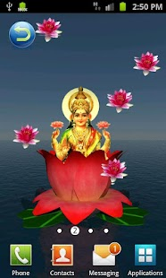 Laxmi Pooja 3D Live Wallpaper - screenshot thumbnail