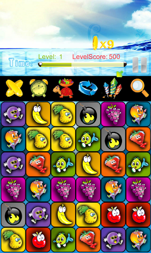 iFruit Match 3 Puzzle Free
