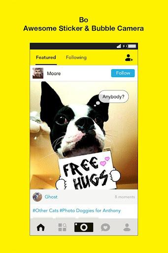 Bo -Sticker Cam for Pet Lovers