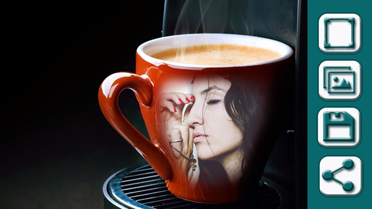 Coffee cup frames - Coffee Mugs Frames Screenshot