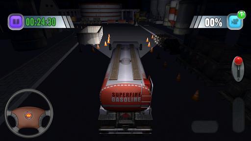 Truck Sim - 3D Night Parking