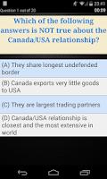 Screenshot of Canadian Citizenship Test Pro
