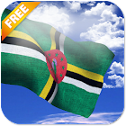 3D Dominica Flag Live Wallpaper icon
