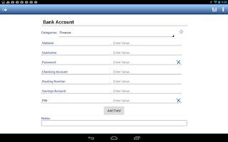 Screenshot of Passwords Plus - Free Vault