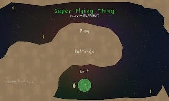 Screenshot of Super Flying Thing BETA