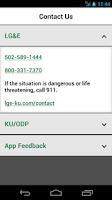 Screenshot of LG&E KU ODP Outage Maps