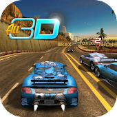 Speed City Night Car 3D