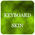 Lime Foggy Keyboard Skin logo