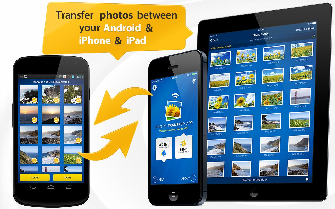 Photo Transfer App- screenshot