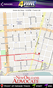 WWL Mardi Gras Parade Tracker - screenshot thumbnail