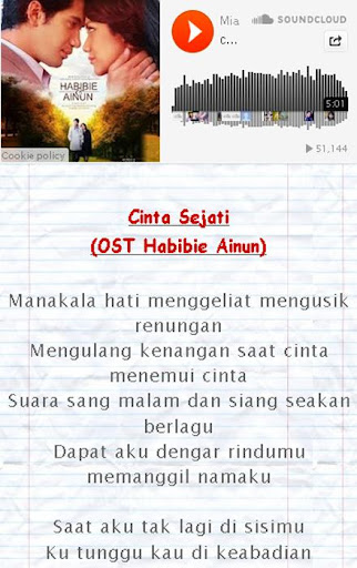 Lirik Lagu Bunga Citra Lestari
