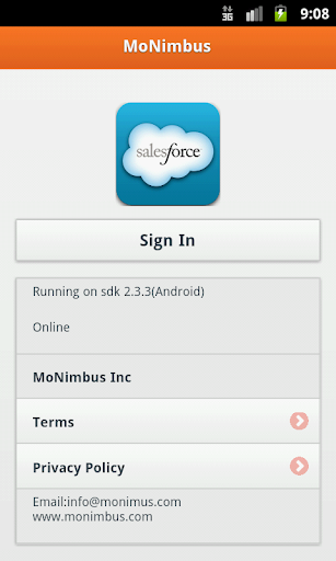 MoNimbus Studio for Salesforce