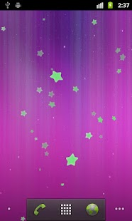 Stars Live Wallpaper Screenshot 4