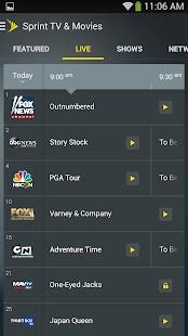 Sprint TV & Movies - screenshot thumbnail
