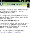 Screenshot of Browser 2 Droid