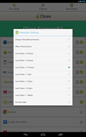 Screenshot of Clean History - Optimize