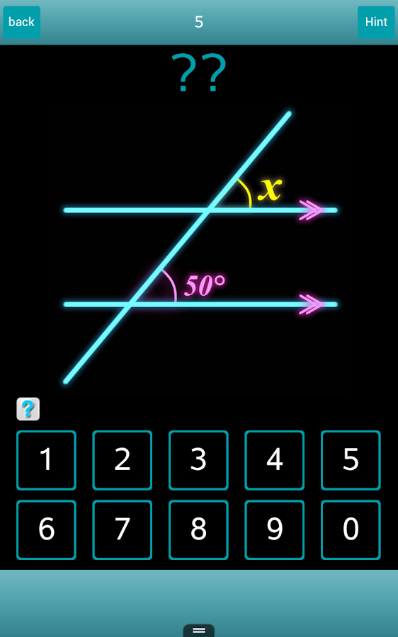Find Angles! - Math questions- screenshot