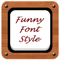 Funny Font Style icon