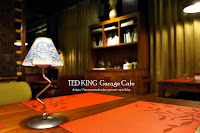 TED KING GARAGE CAFE