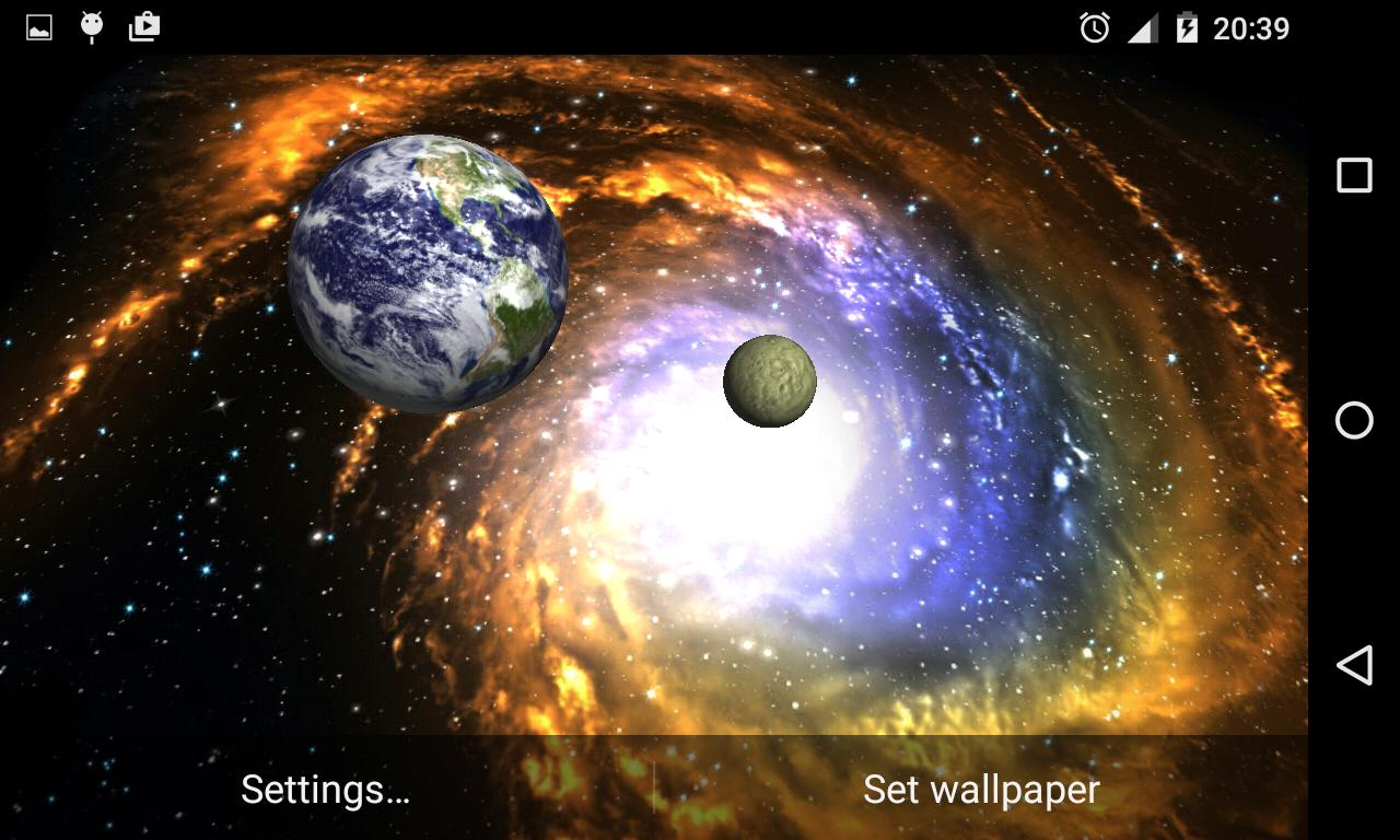 Gambar Wallpaper 3d Galaxy