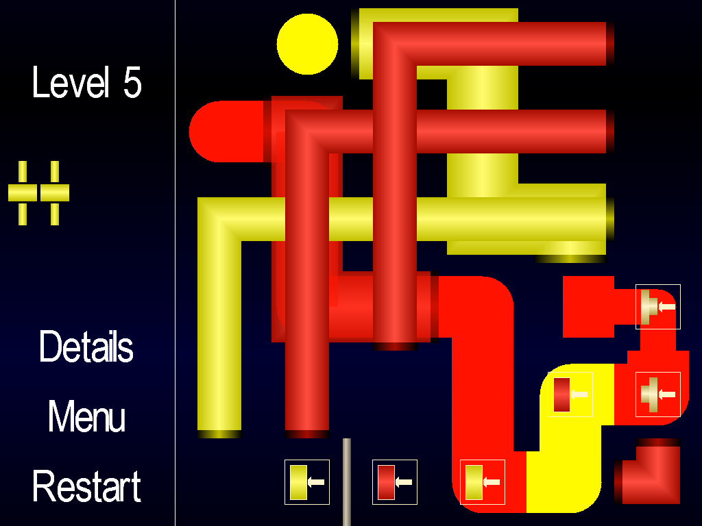 Tubes: Think, Move and Solve! - screenshot