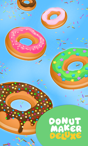 Donut Maker豪华版 - 烹饪游戏