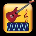 Guitar Music Analyzer Free icon