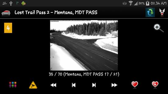 Cameras Montana - Traffic - náhled